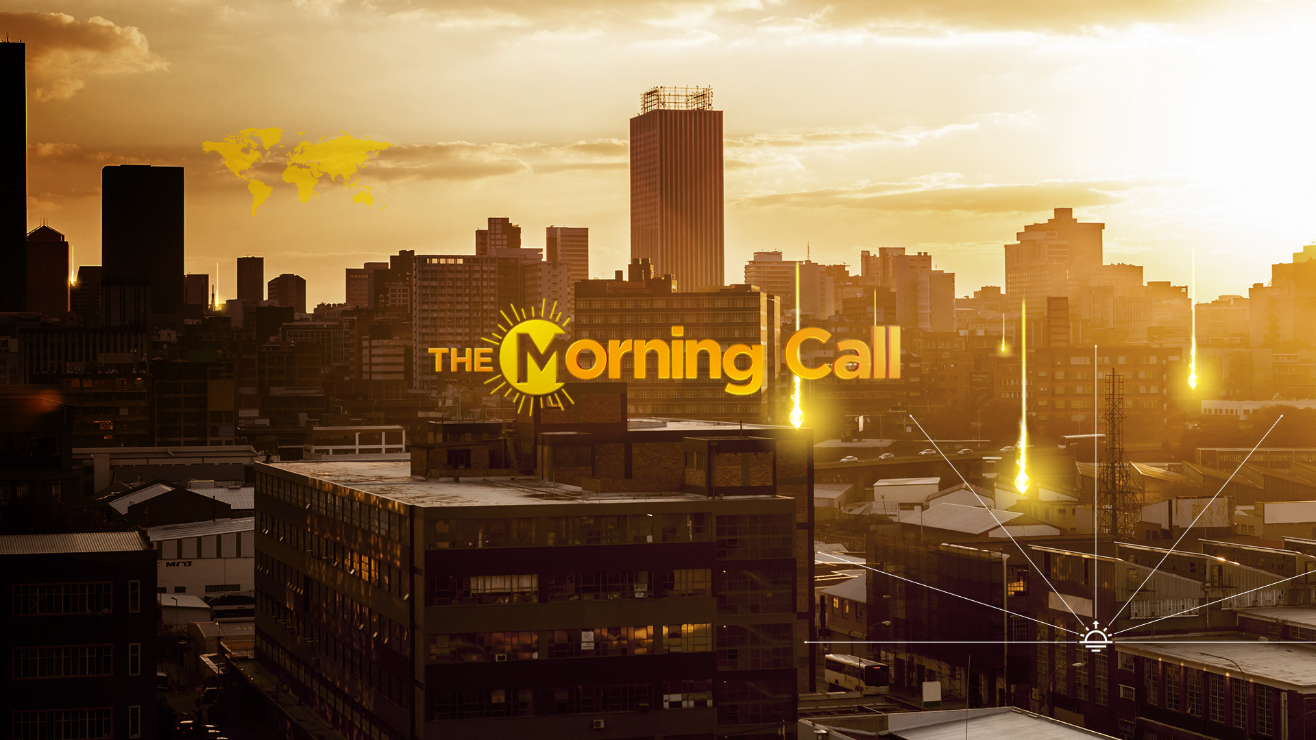 The Morning Call is an interactive daily programme. ​Co-hosted by two anchors.he talk-show format provides advice and perspective from correspondents in the field alongside ​analysts and experts. Covering politics, business ​reports, sports and entertainment. ​,as well as healthier eating or ​a step-by-step guide to improving your well-being.